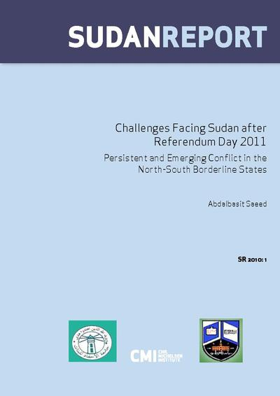 CMI Publication: Challenges facing Sudan after referendum day 2011 ...